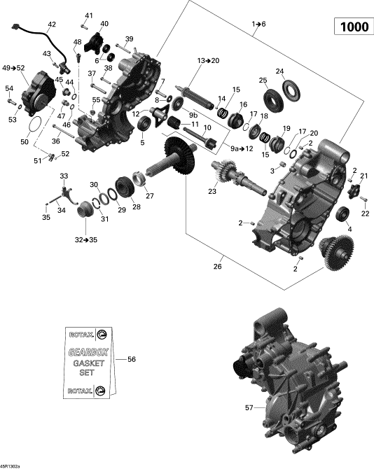 polaris rzr 800 front differential parts diagram 98 z71