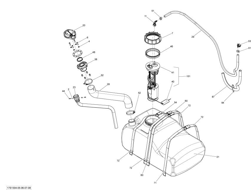 2013 sea doo rxt x 260  u0026 rs fuel filter