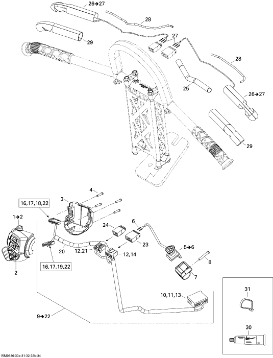 Ski Doo Wiring Harness Diagram