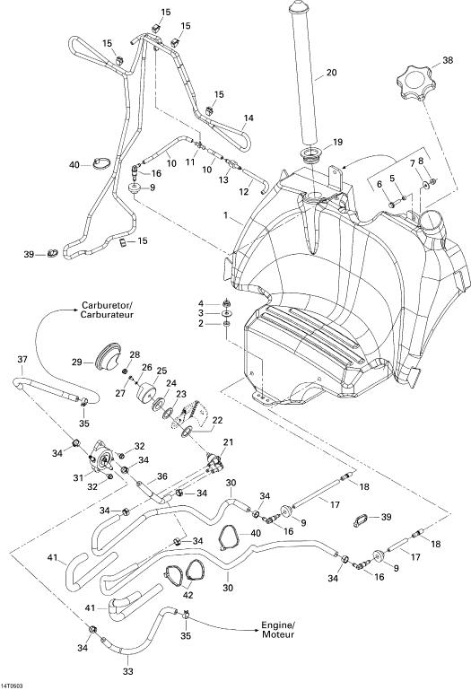 2005 Traxter Xl Fuel Gauge