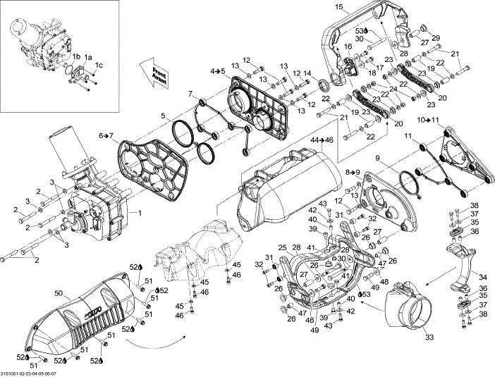 Seadoo 951 Engine Diagram Get Free Image About Wiring Diagram