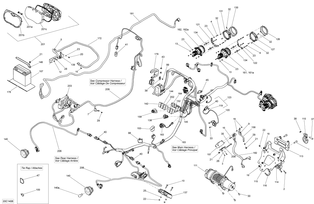 2014 maverick 1000 xmr ignition switch | can-am part ... bombardier ignition switch wiring diagram