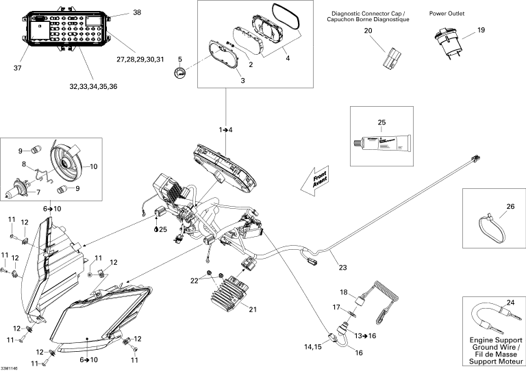 victory cross country wiring diagram